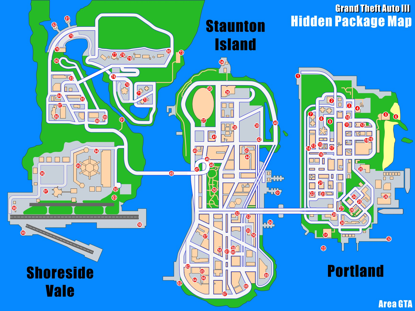Gta  Portland Harbor Car List
